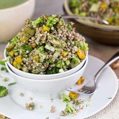 "Buckwheat ""Garden"" Salad"