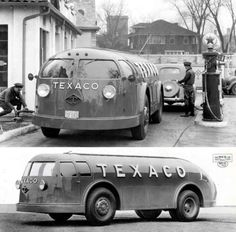 way too cool Texaco Truck - I have a metal model of one.