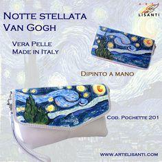 Portafoglio dipinto barche di pescatori di van gogh for Dipinto di van gogh notte stellata