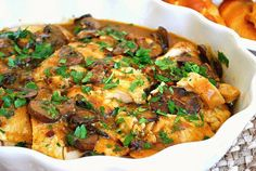 What's Cookin, Chicago: Instant Pot: Smothered Chicken & Mushrooms