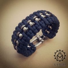 Bike chain paracord bracelet