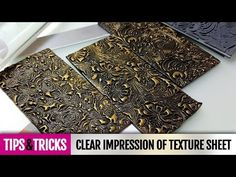 Tips&Tricks | Tip #2 How to make clear impression on polymer clay with…