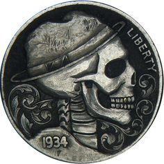 """hobo nickel"". I MUST LEARN HOW TO DO THIS."