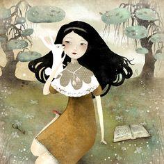 Anne-Julie Aubry - a golden afternoon (alice in wonderland)