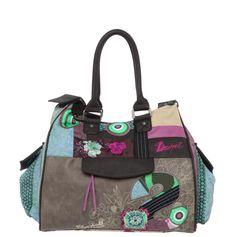 "Desigual Bag ""London S Patch"" 41X5186 Canada | Fun Fashion |"