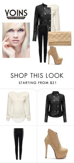 """YOINS"" by hanifasemic ❤ liked on Polyvore featuring yoins"