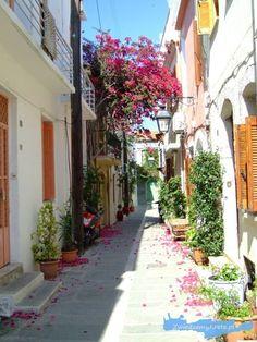 Canario, Crete, Sidewalk, Europe, Places, Holidays, Turkey, Concept, Porto
