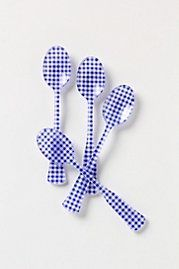Checkered Tea Spoons