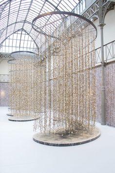 Hanging Garden, installation by Kris Ruhs