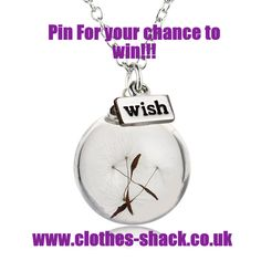 Repin for your chance to win this lucky wish necklace. Open worldwide Ends 02/04/17 #win #giveaway #prizes #competition #repintowin #ethicalfashion #wishnecklace #jewellery