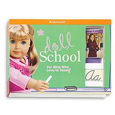 AG Doll School: For the girl who loves learning and her American Girl doll (HT @Susie Spence) #ages6to10 #girl $18
