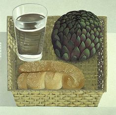 Nathalie du Pasquier...Now I want to know where I can find an artichoke that huge!