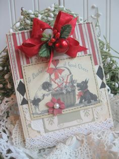 Beautiful Christmas card by Cherry @ Cherry's Jubilee