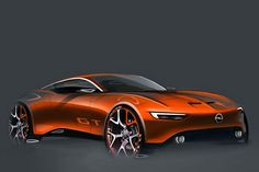 diseño conceptual del Opel GT.