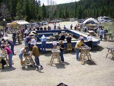 Gem Mountain Sapphire Mine Montana- This was so much fun!