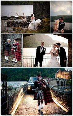 scottish wedding at eilean donan castle by Contemporary Wedding