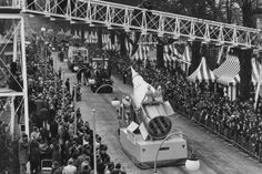 The Easter Parade, held in Battersea Park, London, drew large crowds in spite of chilly weather 29.03.1964