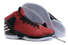 reputable site 96e9a a3055 Adidas adiZero Dominate Rose 2012 Shoes Red Black White New Balance Shoes, Red  Black,