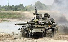 100%™ 1986-89 T-55AM Merida   Russian tank. Polish Army