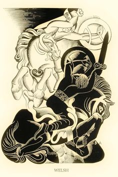 Illustration by Boris Artzybasheff  from 'Orpheus Myths of the World' written by Padraic Colum (1930)