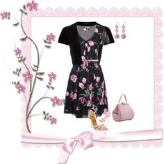 """""""Untitled #1614"""" by msdanaue on Polyvore"""