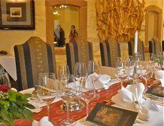 Banquet in the restaurant 'Ritterstube'