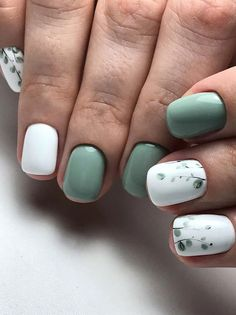 24 Elegant Acrylic White Nail Design For Short Square Nails In Summer - Latest Fashion Trends For Woman White Nail Designs, Short Nail Designs, Minimalist Nails, White Acrylic Nails, White Nails, White Manicure, Hair And Nails, My Nails, Short Square Nails