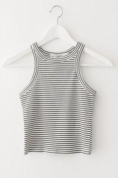 d3383b356950ca Striped Crop Top Striped Crop Top