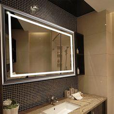 Miroir éclairant salle de bain LED haut de gamme FUTURE1 [mbcg8060] - 419,00€ :