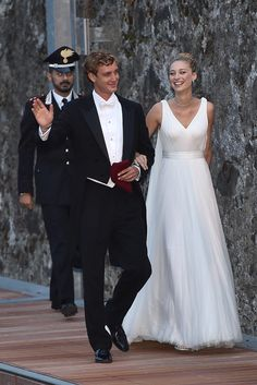 "Monaco's Royal Wedding Gives Kate and Will a Run For Their Money — See the Snaps!: One week after getting married in a civil ceremony at Monaco's Pink Palace, Pierre Casiraghi and Beatrice Borromeo said ""I do"" for a second time in Italy on Saturday."