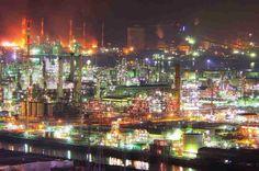 """【画像大量】幻想的で美しい""""工場夜景""""の画像を貼っていくスレ : 【2ch】ニュー速クオリティ"""