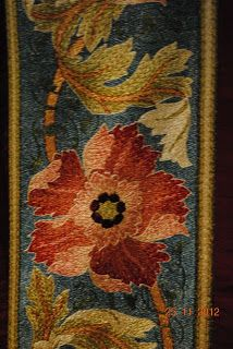 """Quilt by May Morris. Mary """"May"""" Morris (1862–1938) was an English artisan, embroidery designer, socialist, and editor. She was the younger daughter of William Morris and his wife (and artists' model) Jane Morris"""