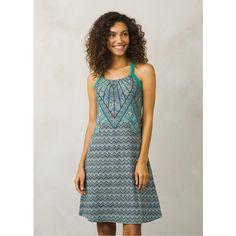 prAna Quinn Dress ($79) ❤ liked on Polyvore featuring dresses, dragonfly samba, stretchy dresses, prana, stretch dresses, scoop neckline dress and prana dresses