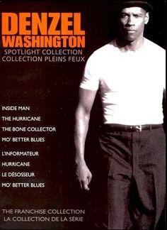 Denzel Washington Mo' Better Blues, The Bone Collector, Inside Man, Denzel Washington, Memes, Movie Posters, Film Poster, Popcorn Posters, Film Posters