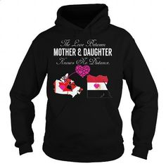 The Love Between Mother and Daughter - Canada Egypt - #teas #navy sweatshirt. ORDER HERE => https://www.sunfrog.com/States/The-Love-Between-Mother-and-Daughter--Canada-Egypt-Black-Hoodie.html?id=60505