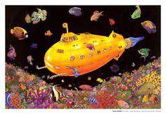 Yellow Submarine Prints at AllPosters.com