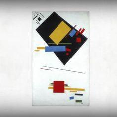 Video: Kazimir Malevich and the Russian Avant-Garde - till February 2, 2014 at Stedelijk. http://www.arttube.nl/en/video/Stedelijk/Kazimir_Malevich