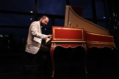 Mahan Esfahani, who performed at the Mostly Mozart Festival on Friday, is trying…