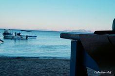 Naxos island/Greece/sea/horizon/sunrise