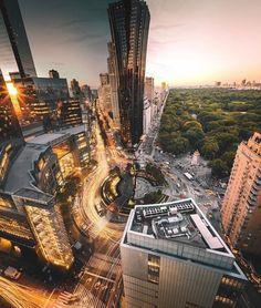 Columbus Circle by @ivvnwong