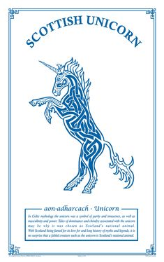 With Scotland being famed for its love for and long history of myths and legends, it is no surprise that a fabled creature such as the unicorn is Scotland's national pure x Scotland Vacation, Scotland Travel, Celtic Symbols, Celtic Art, Scottish Unicorn, Scottish Gaelic Phrases, Scottish Symbols, Scottish Quotes, Scotlands National Animal