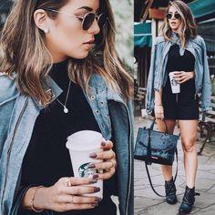 A moda é um reflexo da nossa personalidade e espírito ✨ A @fabiulapacheco arrasou na escolha do Look do dia  #envyotica #ootd #outfit #look #rayban #raybanhexagonal