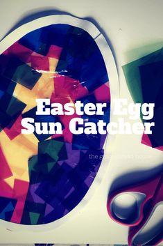 Easter Egg Sun Catch