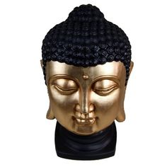 Adorn your home with this durable poly resin sculpture resembling the Buddha.Features:Product Type: Figurine