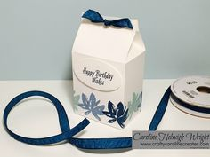 Lovely Gift Box with Avant Garden by Stampin' Up - Video Tutorial