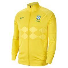 Football Jackets, Men's Football, Nike Outlet, Nike Dri Fit, Brazil Men, Soccer Store, Spandex, Green Fashion, Sweatshirts