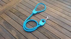 Excited to share the latest addition to my #etsy shop: Lead Hearts Repairable Dog Lead, Light Blue rope and Light Blue Hearts http://etsy.me/2hZI2kr #pets #blue #doglead #dogleash #red #adjustable #repairable #handmade #madeintheuk