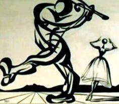 "Drawings for the Dali / Disney collaboration ""Destino"""
