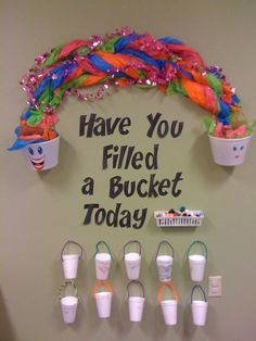 We are bucket fillers. Behavior Chart Preschool, Classroom Behavior Management, Behavior Plans, Behavior Charts, Behaviour Management, Class Management, Kindness Activities, Preschool Activities, Friendship Activities