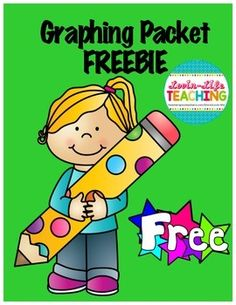 Graphing Printables FREEBIE of the WEEKUse these printables to practice… Math Classroom, Kindergarten Math, Teaching Math, Elementary Math, Classroom Activities, Maths, Teaching Ideas, Graphing First Grade, Second Grade Math
